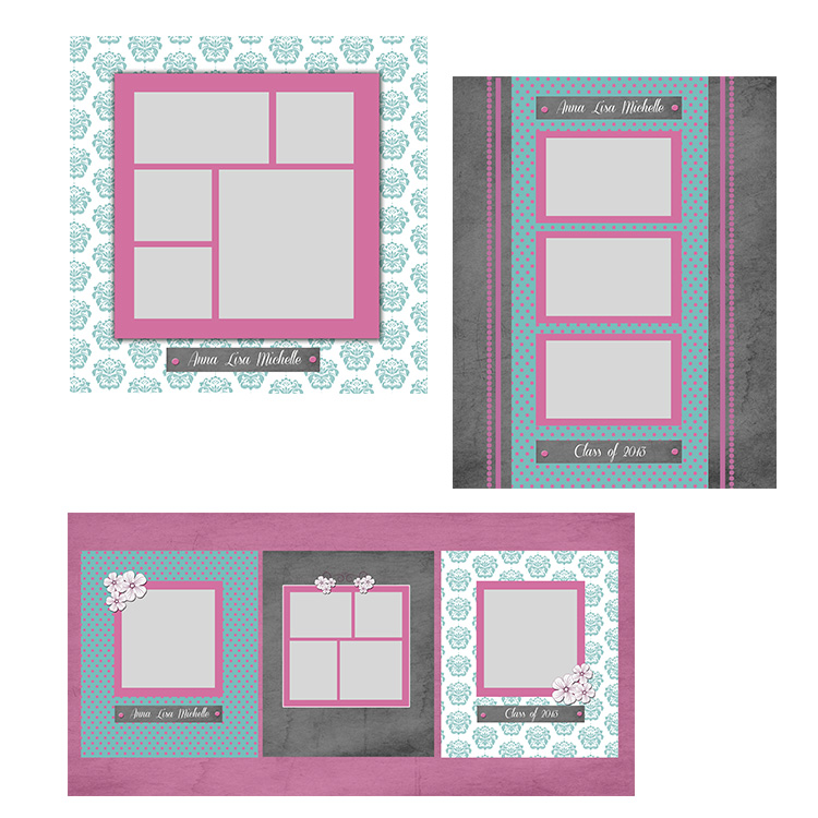 Damask Garden Storyboards