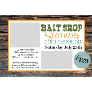 Bait Shop PSD Template
